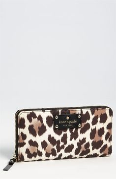 kate spade new york 'copa cabana - lacey' zip around wallet available at #Nordstrom