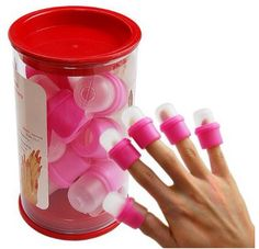 Really easy and fun way to walk around without worrying about bumping your nails into anything or messing them up