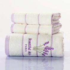 100% Cotton Soft Bath Towel 70x140cm,35x75cm Bath Face Towel Set Hot Bathroom Accessories