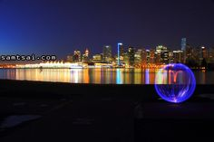 I love this location in Stanley Park, which allows a panoramic view of Vancouver Harbour. This is a popular viewing location for Canada Day Fireworks over Canada Day Fireworks, Stanley Park, Downtown Vancouver, Night Photography, Marina Bay Sands, Adventure, Building, Travel, Viajes