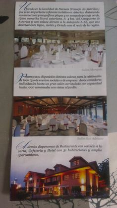 Marques de la Moral, Hotel y restaurante. Aviles