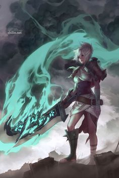 Riven - League of Legends Fan Art. League of Pictures is a website where you can find League of Legends fan art, cosplay and more! Memes League Of Legends, Ekko League Of Legends, League Of Legends Characters, Fanart, Riven Lol, Game Character, Character Design, League Of Legends Personajes, Fantasy Characters