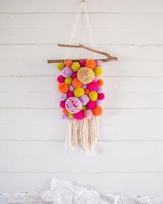 "206 Likes, 25 Comments - Above the Canopy (@abvthecanopy) on Instagram: ""Exciting news! I'll be teaching a POM-POM MAKING WORKSHOP creating your own wall hanging at…"""