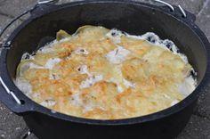 Kartoffelgratin aus dem Dutch Oven | BBQPit.de - Grillrezepte, Tipps & Tricks, alles über Barbecue