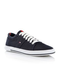 Tommy Hilfiger Harry 5d lace up trainers, Navy