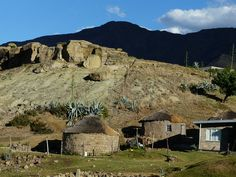 Mountain huts in Lesotho by Nomad Africa Adventure Tours, via Flickr