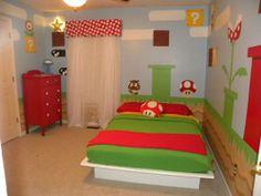 Super Mario Bros themed room <3