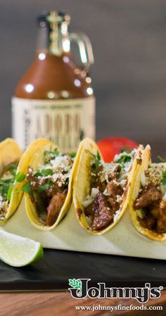 Street Tacos, Carnitas, Fresh Lime, Cilantro, Dinner Ideas, Pork, Stuffed Peppers, Cooking, Fall