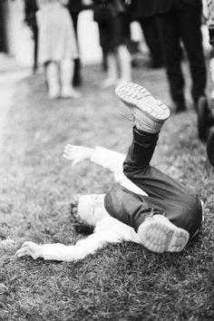 Kodak TRI-X 400 - kid falling down