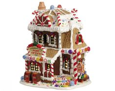 Lemax Sugar 'n Spice village collection - Peppermint Lane Post Office