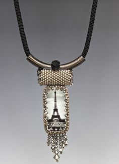 Bead Show: Bead Show Workshops & Classes: Wednesday June 5, 2013: B131277 Peyote Tube Necklace
