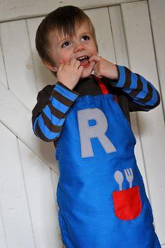 Attempting Aloha: Day 9 - Handmade Christmas Gifts for Boys; luke apron