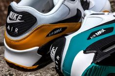 NIKE AIR MAX 90 (TURBO GREEN + UNI GOLD) | Sneaker Freaker