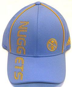 cc96c0811a1 Denver Nuggets Pro Shape Flex Adidas Hat