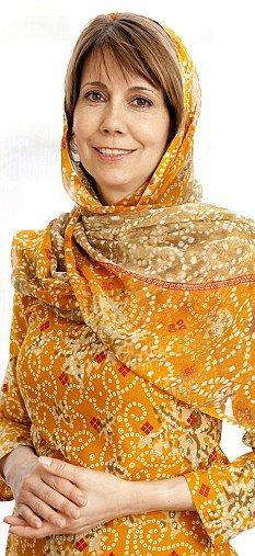 Convert to Islam: Kristiane Backer, German TV personality and journalist Chris John, Quran Recitation, Muslim, British, George Bernard, Beautiful Women, High Neck Dress, Female, Casual