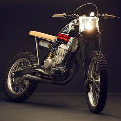 "On BikeBound.com: Honda #XR250 ""Tornado"" by @lowbudgetcustoms of Argentina. Link in Profile #dualsport #enduro #xr250r #tracker"