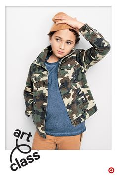 b45c924b6 Welcome to Art Class, our new kids fashion brand. The camouflage jacket  that goes