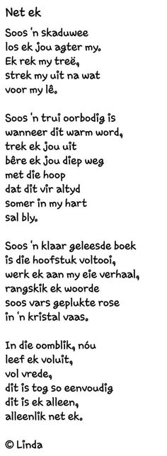 Afrikaans, Poems, My Love, Quotes, Friendship, Board, Quotations, Poetry, Verses
