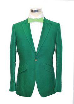 Green Linen - Adam Waite Tailored Menswear