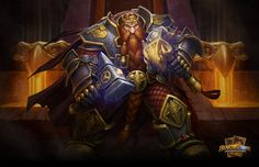 Magni hero card painted for Hearthstone: Heroes of Warcraft. Hearthstone King Magni by Glenn Rane World Of Warcraft, Art Warcraft, Paladin, Fantasy Character Design, Character Art, Character Ideas, Character Portraits, Hearthstone Heroes Of Warcraft, Fantasy Dwarf