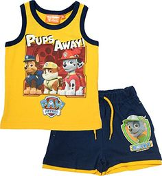 """BestTrend """"PAW Patrol"""" Pups Away! shorts and tank top set (custom sized) Kids Clothes Boys, Kids Pants, Cute Baby Clothes, Summer Vest, Summer Boy, Swag Outfits Men, Boy Outfits, Kids Spiderman Costume, Boys Winter Jackets"""