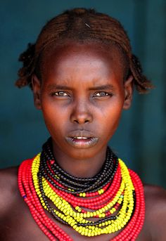 Exotic african woman