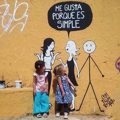 """Acción Poética Colombia🔹 on Instagram: """"Me gusta porque es simple ❤ . . . . . . . . . . . .  #Poesia #Bogotá #Colombia #Frases #Poemas #Escritos #Textos #Comics #Medellín #Cali…"""" Cali, Movies, Movie Posters, Instagram, Texts, Frases, Poems, Colombia, Films"""