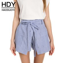 Cheap shorts sexy, Buy Quality casual shorts directly from China sexy shorts Suppliers: HDY Haoduoyi 2017 Summer Stripe Shorts Women Loose Casual Short Slim High Waist Button Culotte Lacing Bottom Cotton Skirt Shorts Culotte Shorts, Belted Shorts, Striped Shorts, High Waisted Shorts, Casual Shorts, Shorts Ootd, Streetwear Shorts, White Shorts, Short Sexy