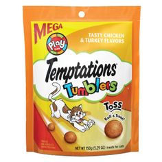WHISKAS® TEMPTATIONS® Tumblers Cat Treat | Crunchy Treats | PetSmart