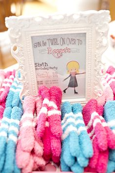 Ice Skating Party Mitten Favors