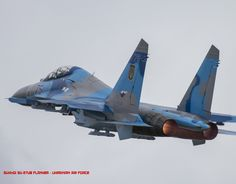http://rp9.it/RussianAircraft2015 December: Sukhoi Su-27ub Flanker - Ukrainian Air Force