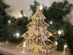 Wooden Christmas Tree from Graven Designs. https://www.facebook.com/pages/Graven-Designs/221252074634348