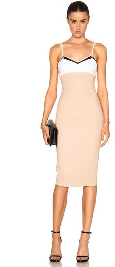 Victoria Beckham Open Weave Cami Fitted Dress - $2,100.00