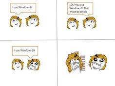 Windows 95 > Windows 8