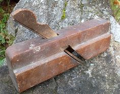 Vintage Wood Molding Plane AUBURN TOOL Antique Round by ddb7, $20.00
