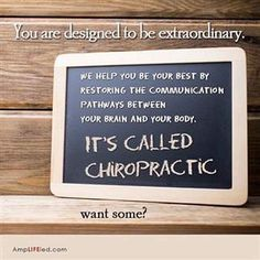Want to be your best? #MaximizingHealth #getchecked #getadjusted #chaparralchiropractic