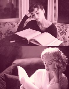 Audrey and Marilyn