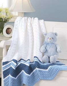 Picture of Terrific-to-touch Baby Afghans