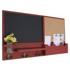Mason Jar Flowers, Mason Jars, Kitchen Bulletin Boards, Hm Deco, Large Cork Board, Command Center Kitchen, Tack Board, Large Chalkboard, Red Barns