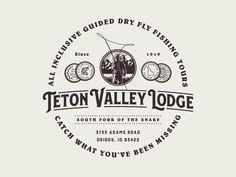Teton Valley Lodge - Crest Design
