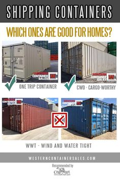 How to purchase and modify your shipping container House Design 15 Easy ways of building perfect containerized homes - Craft-Mart Shipping Container Homes Cost, Converted Shipping Containers, Storage Container Homes, Cargo Container, Shipping Container Interior, Shipping Container Dimensions, Tiny Container House, Container Store, Storage Containers