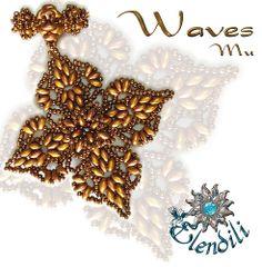 Colgante Waves de Mu