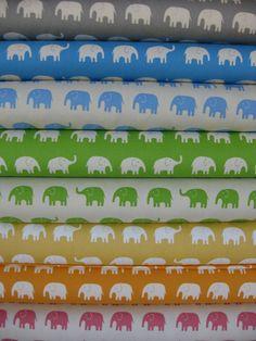 Daiwabo Elephant Walk Canvas in Fat Quarters- 8 total.  $30.60~~~ PROUD REPUBLICAN!!!!!