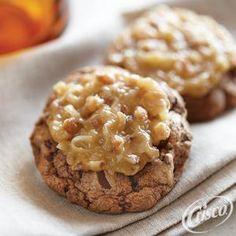 Fudgy German Chocolate Cookies from Crisco®