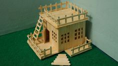 How to Make Popsicle Stick Amazing house House amazing ice cream stick & Popsicle Stick craft making Diy Crafts To Do, Craft Stick Crafts, Home Crafts, Clothespin Crafts, Popsicle Stick Crafts House, Popsicle Sticks, Ice Cream Stick Craft, Hamster House, Lollipop Sticks
