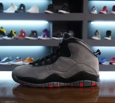 """AIR JORDAN X """"COOL GREY INFRARED"""" 1000% AUTHENTIC DS"""