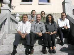Mi equipo de Recursos Humanos de Sanitas. Estamos con Douglas McEncroe y Pedro Gioya.