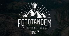 Fototandem | Logo Design | The Design Inspiration