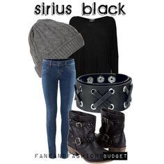 """Sirius Black"" by sunshineowlnew on Polyvore"