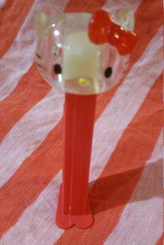 Vintage 1976 Sanrio Hello Kitty Pez Dispenser by ThenThereWas on Etsy